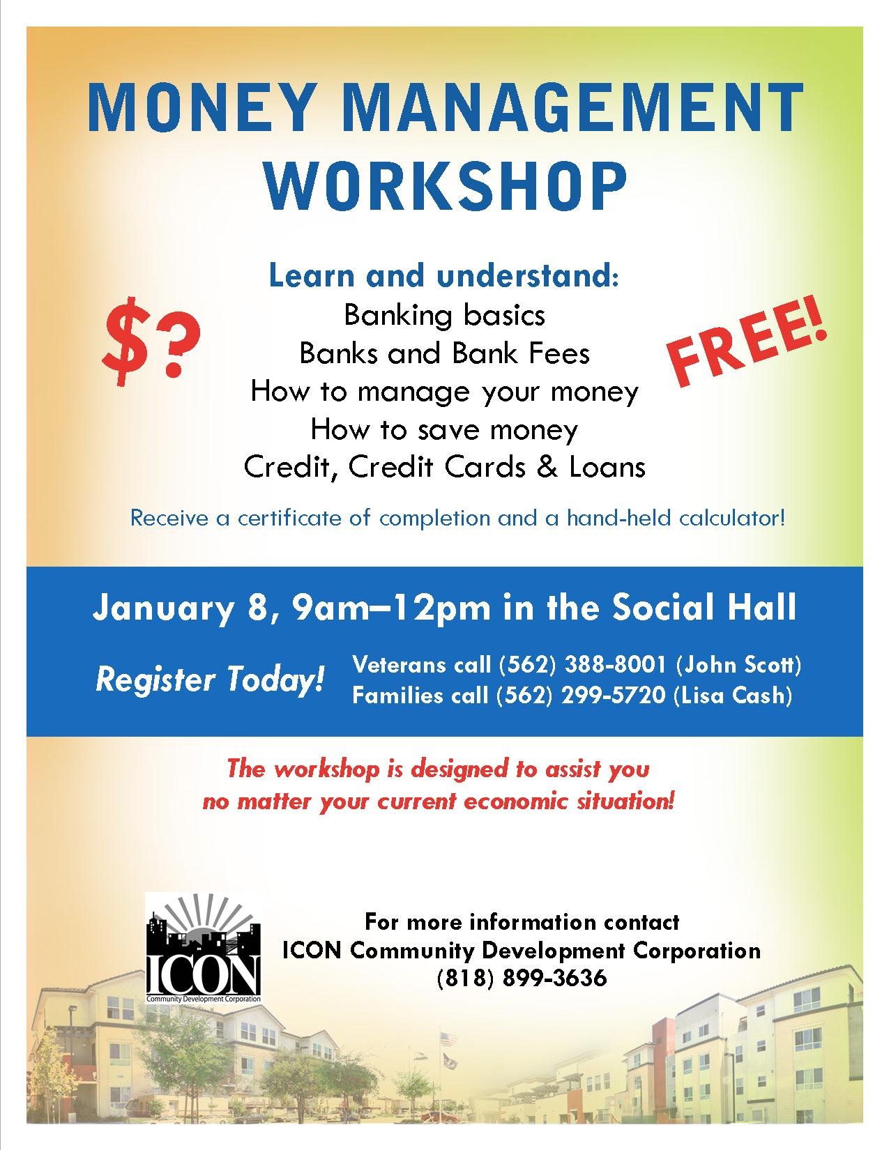 free financial literary class on campus