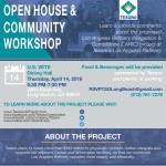 Tesoro Open House  Community Workshop 4-14-16
