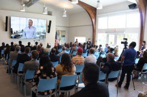CVC Social Hall Opening Event